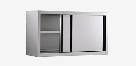 armoire inox suspendue