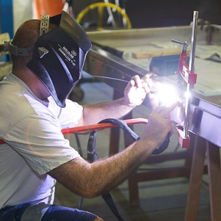 Fabrication artisanale d'équipement inox