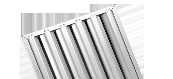 filtre choc inox