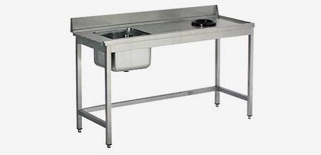 table inox avec TVO